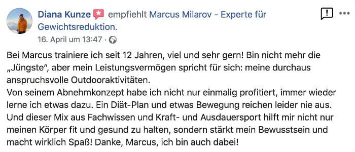 Kundenbewertung Personal Trainer in Berlin