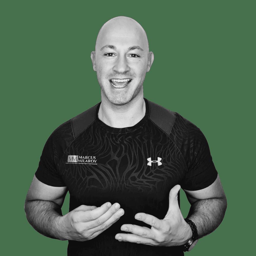 Marcus Milarov - Experte für Gewichtsreduktion Personal Trainer Berlin Pankow